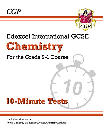 New Grade 9-1 Edexcel International GCSE Chemistry: 10-Minute Tests (with answers) por CGP Books
