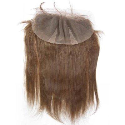 Vendita calda. 20,3- 50,8cm alta qualità top Lace Frontal Lisci e Setosi 100% capelli umani vergini brasiliani dimensioni (4* 13) Grade 6A # 4Medium