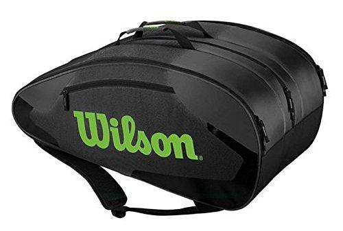 WILSON TOUR TEAM II 12 PACK GYGR grau
