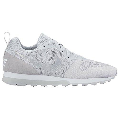 Nike 902858, Scarpe da Ginnastica Basse Donna WOLF GREY / PURE PLATINUM WHITE