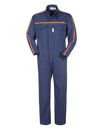 Blu Royal Dealer Workwear-Dealer Workwear totale laterale e chiusura elastica colore