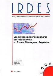 Les politiques de prise en charge des médicaments en France, Allemagne et Angleterre