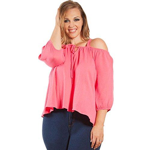 meinice-damen-t-shirt-gr-xxl-rose