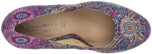 Tamaris 1-1-22441-20, Sandales femme - Multicolore Multicolore (Denim Comb 853)