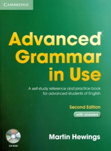 Advanced Grammar in Use With CD ROM by Martin Hewings (28-Apr-2005) Paperback