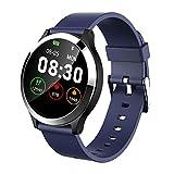 xluckx Reloj Inteligente ECG Reloj Deportivo PPG + ECG Monitor HRV Informe Prueba de Ritmo Cardíaco Presión Arterial Pulsera para Ancianos Pulsera Impermeable para Hombres y Mujeres