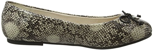 Evans Extra Wide Detail, Ballerines plates femme Multicolour (Multicoloured)