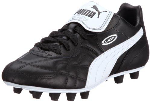Puma Herren Liga Classic FG Fußballschuhe Schwarz (Black-White Silver 01), 41 EU