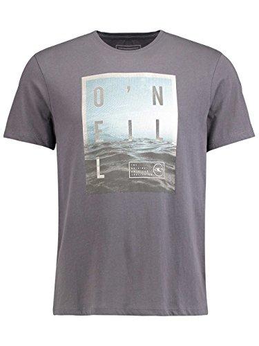 O 'Neill Herren Oberfläche T-Shirt Tees Asphalt