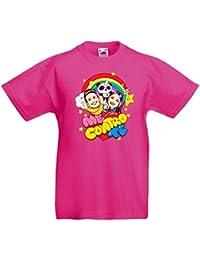 T-shirt Maglia Maglietta Me Contro Te Estate 100% Cotone Lui Sofi Youtube Bambino: Abbigliamento Abbigliamento E Accessori