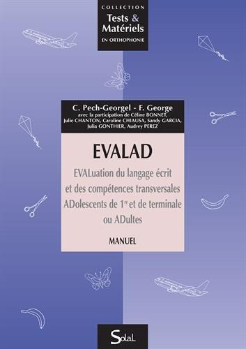 EVALAD - LIVRET D'ENREGISTREMENT PACK