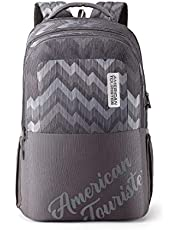 American Tourister Crone 29 Ltrs Grey Casual Backpack (FG8 (0) 08 205)