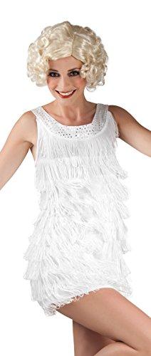 Boland 83507 - Erwachsenenkleid Diana, weiß (Pop Diva Kostüm Ideen)