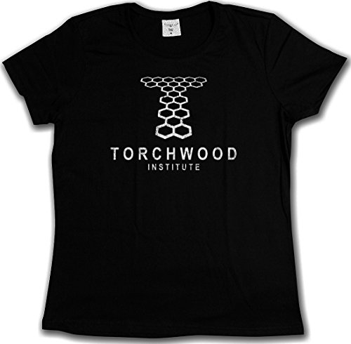 VINTAGE TORCHWOOD INSTITUTE LOGO T-SHIRT - SciFi TV Series Doctor Who T-Shirt Tailles S - 5XL, Tee shirts Torchwood