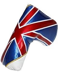 Artesano Golf bandera de la Unión blanco funda para Putter para Odyssey Titleist Callaway Ping Odyssey
