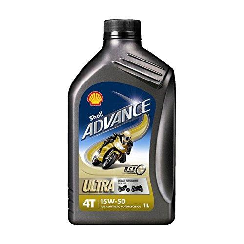 Huile Moteur Shell Advance Ultra 4T 15W50 – Bidon de 4 L pas cher