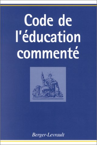 Code de l'éducation commenté par Henri Peretti