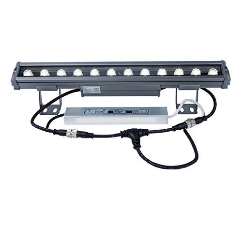 LED Aussenleuchte / Wandleuchte / Art.V5433 / Fassadenstrahler / WALL WASHER / Aluminium 12W 4500K