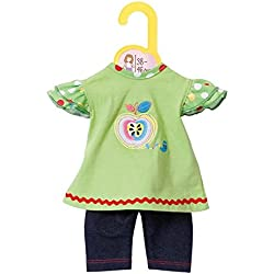 Zapf Creation 870068-Dolly Moda Shirt mit Leggings,38-46 cm