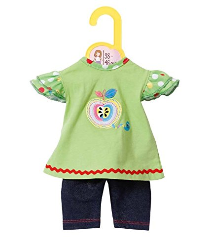 Zapf Creation 870068-Dolly Moda Shirt mit Leggings,38-46 cm