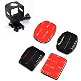 TELESIN Flat And Curve 3M Stickers Adhesive Mount With Frame Mount For Polaroid Cube/Cube+