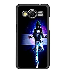 PrintDhaba Dancing Boy D-2391 Back Case Cover for SAMSUNG GALAXY CORE 2 G355H (Multi-Coloured)