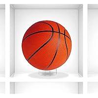 Dough.Q - Supporto per Pallone da Basket e pallavolo, in Acrilico, Trasparente