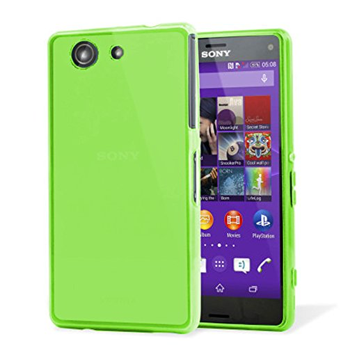 tbocr-sony-xperia-z3-compact-mini-green-ultra-thin-tpu-silicone-gel-case-cover-soft-jelly-rubber-ski