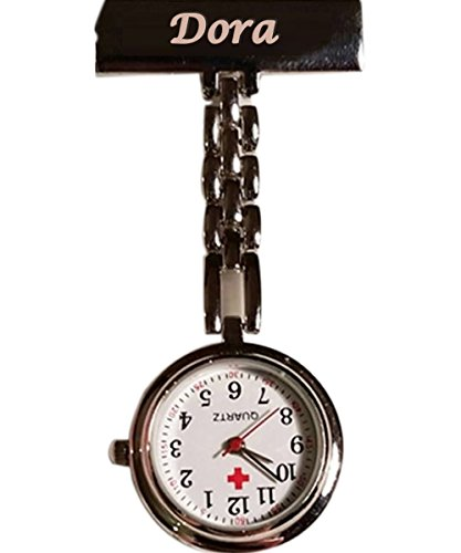 Boxstal Personalised Nurses Fob Watch - Engraved
