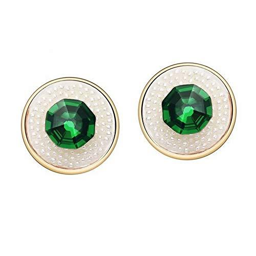 Ring-Schild Religiöse Kupfer Ohrringe Vergoldete Ohrringe, Wie Gezeigt