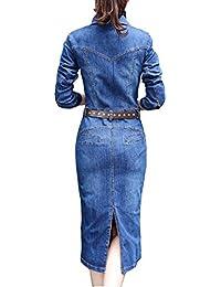 01cdb44db12c3 Amazon.it  vestito jeans - Vestiti   Donna  Abbigliamento