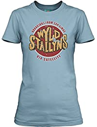 Bathroom Wall Bill and TED Inspired WYLD Stallyns Bogus Journey, Women's T-Shirt