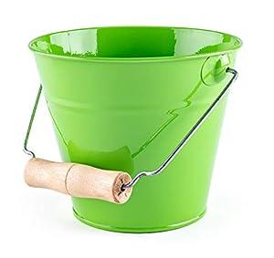 Woodyland 102191468 - Cubo de jardín, Color Verde