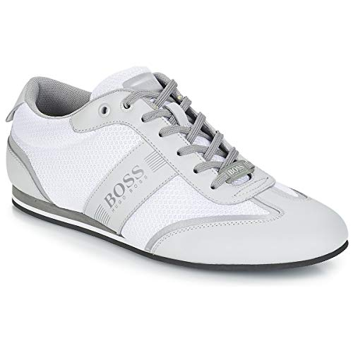 Hugo Boss | 50370438 Low-Profile Lighter_Lowp_Mxme Trainers - Off White 8 Off White