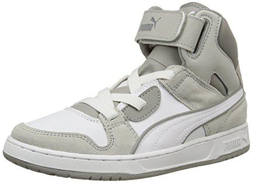 Puma Rebnd Streed Sd, Sneakers Hautes garçon White/Drizzle