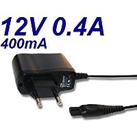 Cargador Corriente 12V Reemplazo Afeitadora Braun Series 3 310 320 Recambio Replacement