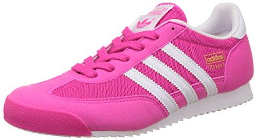 adidas - Dragon J, Scarpe sportive Unisex – Bimbi 0-24 Multicolore (Rosa / Blanco (Rosimp / Ftwbla / Ftwbla))