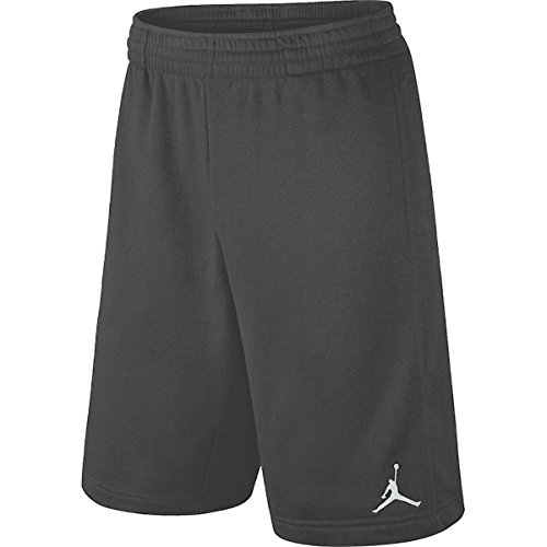 Nike Boys Dri-Fit Jordan Basketball Shorts, Dark Grey, Medium, 951532 176 (Jordan Nike Basketball Shorts)