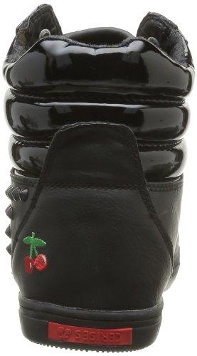 Le Temps des Cerises - Jalyn, Sneaker Donna Nero (Noir (Vernis Black))