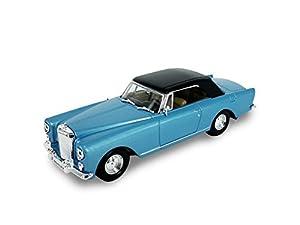 LUCKY Die-Cast 1961 Bentley S2 Continental Roof Top - Maqueta de coleccionistas de Troquelado (luz Azul metálico)