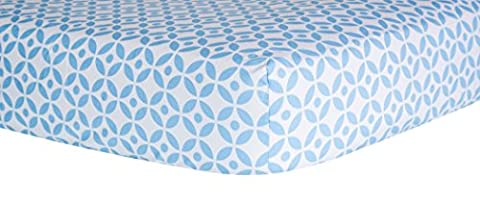 Trend Lab Logan Lattice Crib Sheet, Logan