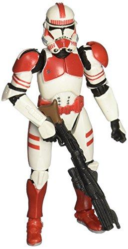 Clone Trooper (rot) Star Wars Rache der Sith # 06 Action-Figur