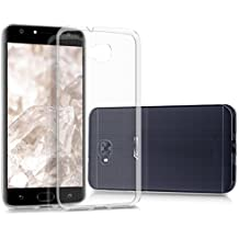 kwmobile Funda para Asus Zenfone 4 Selfie (ZD553KL) - Case para móvil en TPU silicona - Cover trasero en transparente