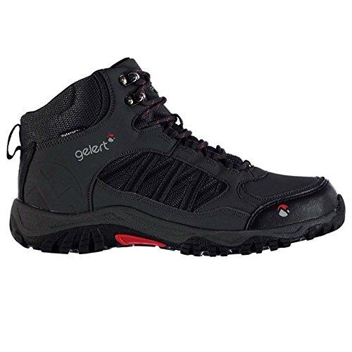 Gelert Mens Horizon Waterproof Mid Walking Boots Lace Up Shoes Outdoor Mesh...