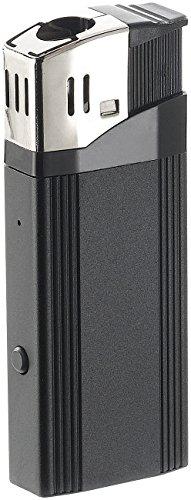 OctaCam Feuerzeug Kameras: Full-HD-Videokamera MC-1920, USB-Zigarettenanzünder, Feuerzeug-Design (Kamera Feuerzeug)