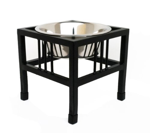 Artikelbild: Baron Single Bowl Dog Feeder - Elevated Diner - 10 Tall by NMN Products