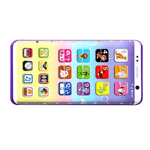 Morza Teléfono Celular del bebé del teléfono móvil de Juguete Educativo de Aprendizaje máquina de la música Juguetes electrónicos para Regalo de los niños de los niños