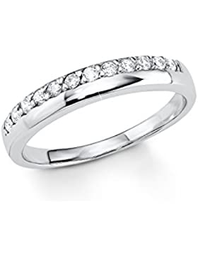 s.Oliver Damen-Ring 925 Silber Zirkonia transparent 5076