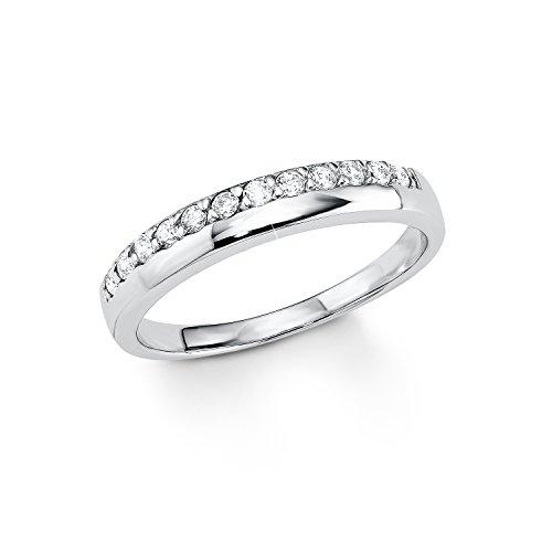s.Oliver Damen-Ring 925 Silber Zirkonia transparent Gr. 56 (17.8) - 507639