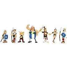 Plastoy - 70,381 - Cartoon Figurita - Tubo Asterix Brawl - 8 Figurines